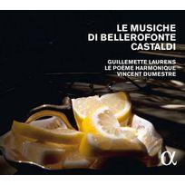 Alpha - Bellerofonte Castaldi - Le Musiche di Bellerofonte Castaldi Boitier cristal
