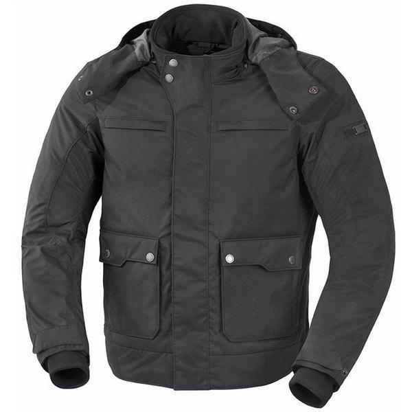 veste moto Baltimore textile homme toutes saisons étanche noir Promo Xl