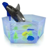 Hexbug - Aquabot 2.0 - Shark Tank - Bocal Requin + Poisson Robot Lumineux