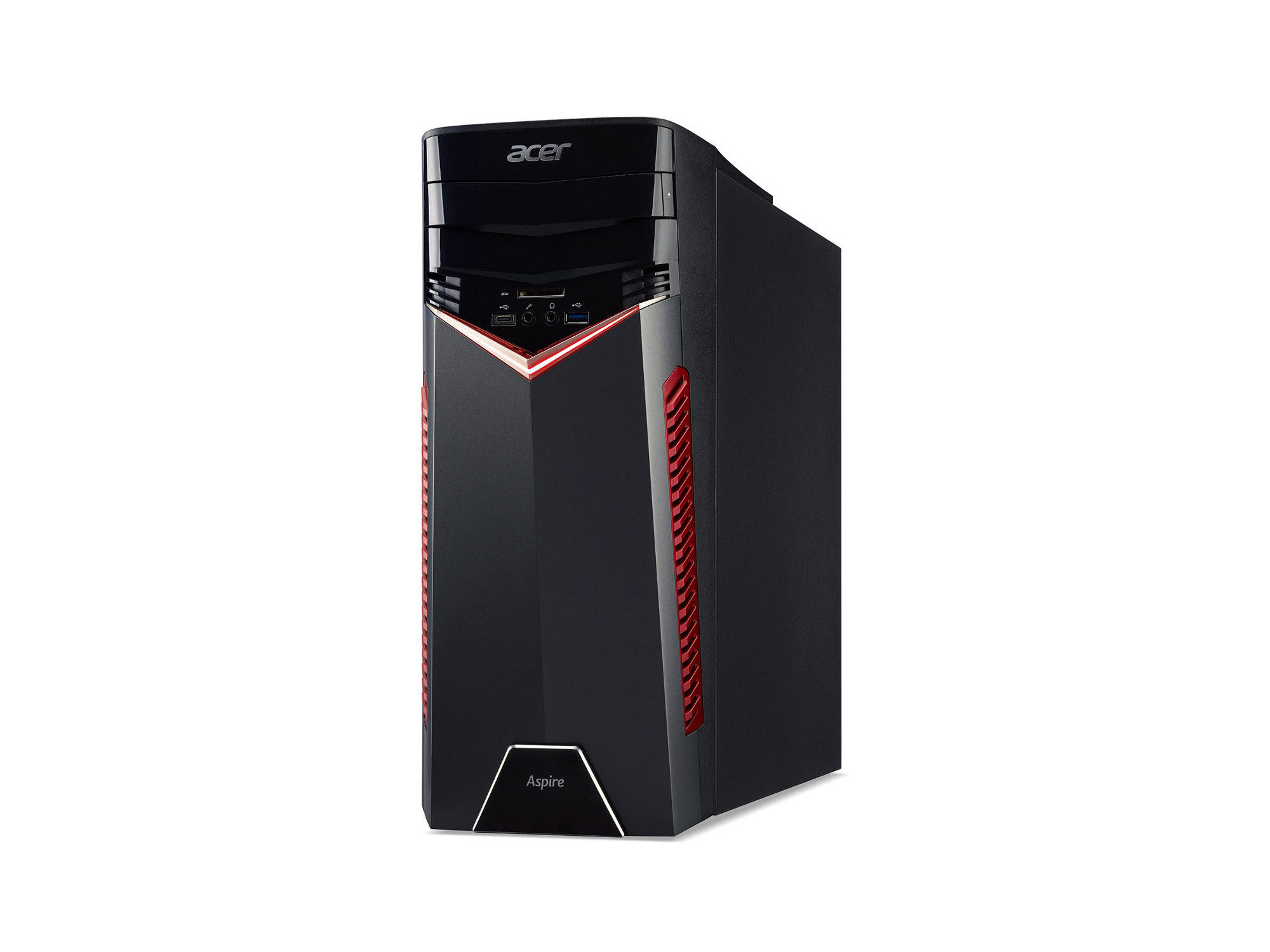 PC fixe Gamer - AMD Ryzen 5 1400 - RAM 8 Go - HDD 1 To - NVIDIA GeForce GTX 1060 3 Go - DVD - Windows 10
