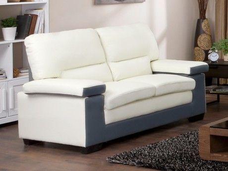 marque generique canap 2 places en cuir de buffle mimas. Black Bedroom Furniture Sets. Home Design Ideas