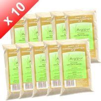 Tous - Lot de 10 Ghassouls Rhassoul, en poudre - dosette de 50gr