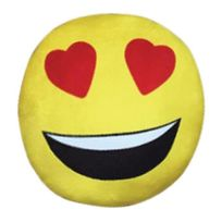 Imoji - Smiley Coussin Deco de 33 cm Love