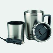 Astuceo - Mug électrique 50 cl avec allume cigare 24 V pour camion