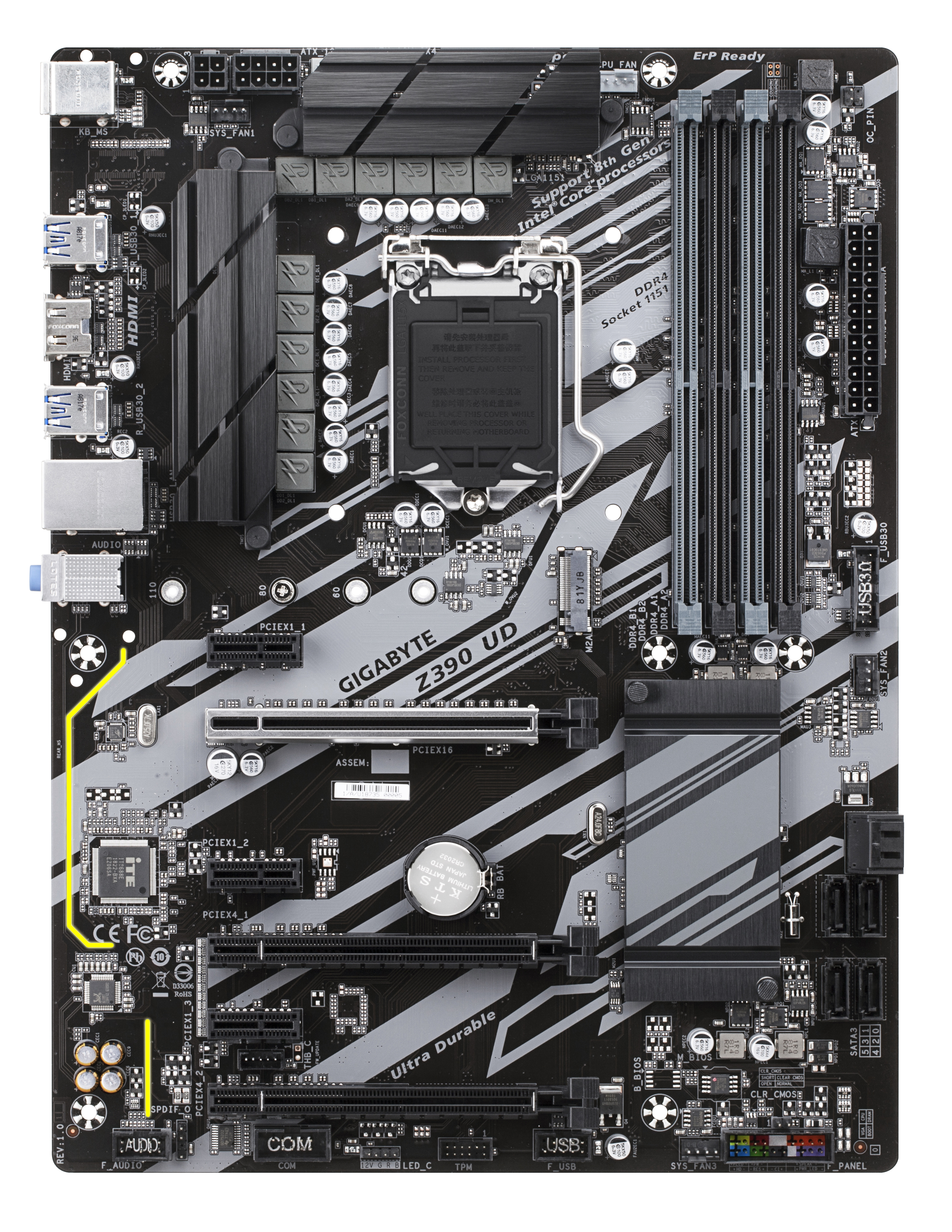 Intel Z390 UD - ATX