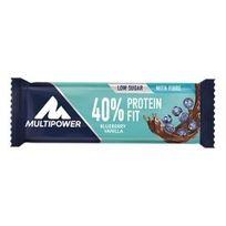 MultiPower - Barre 40% Protein Fit 30 gr myrtille vanille 24 unités