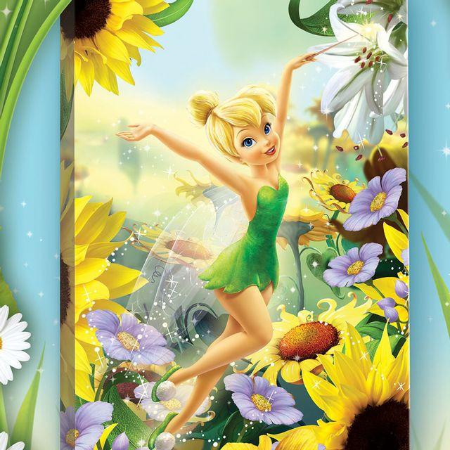 Image De Fée Clochette bebe gavroche - tableau les tournesols fée clochette disney fairies