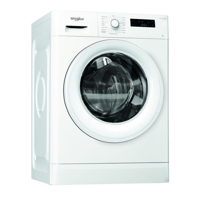 Whirlpool Lave-linge Fresh Care + - FWSF61252WFR - Blanc