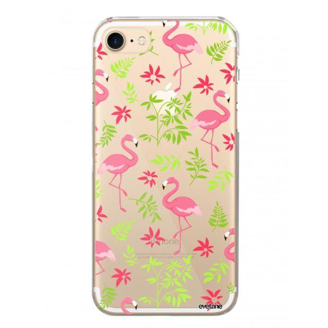 coque iphone 8 flamant rose
