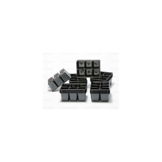 Soparco Plaque pour semis 6 alvéoles 60x55mm, x 100