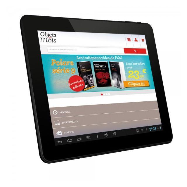 danew tablette multim dia tactile cran 9 7 39 39 android 4 1 pas cher achat vente tablette. Black Bedroom Furniture Sets. Home Design Ideas