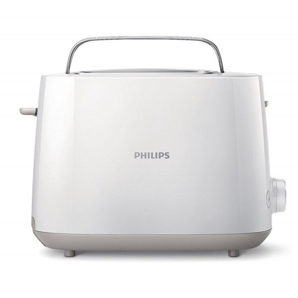 Philips grille pain 2 larges fentes 830w blanc hd2581 00 pas cher achat vente grille - Grille pain 2 fentes larges ...