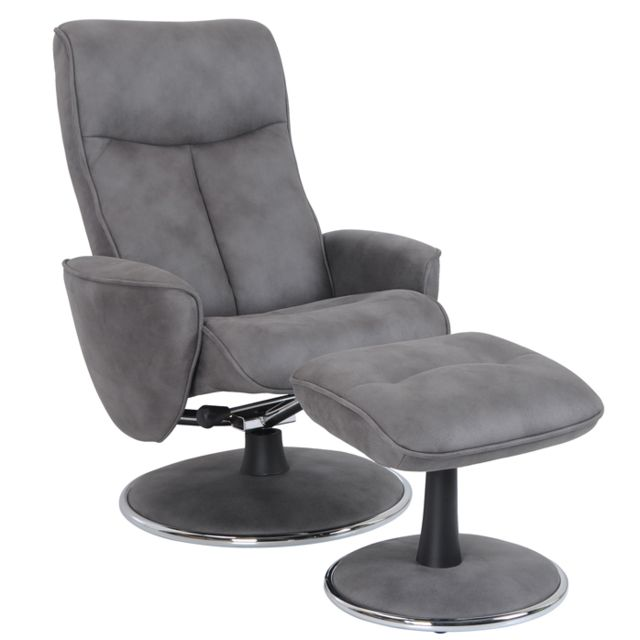 Micro pieds Arbin Anthracite Fauteuil Relaxrepose WD9H2IYE