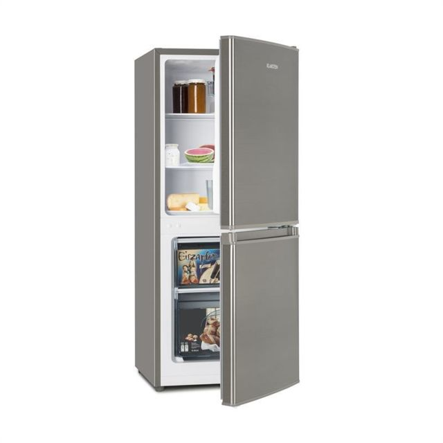 KLARSTEIN Big Daddy Cool 100 combi réfrigérateur congélateur 106 litres A+ inox
