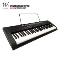 Ws - Synthetiseur electrique Clavier piano 61 touches Pro