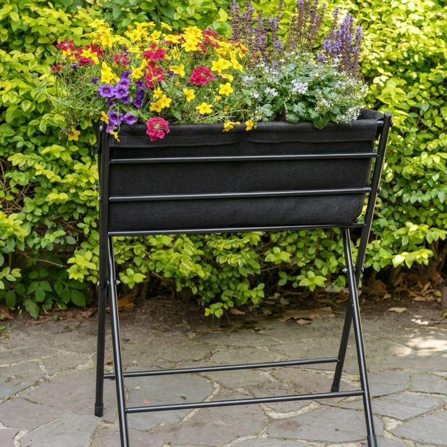 Acd-serres - Jardinière VegTrug Poppy noir