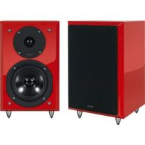 Eltax - Enceintes compactes Monitor III Se Rouge laqué la paire