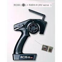 Radiolink - Radio Volant RC4G - Récepteur R4EH-G Gyro, bateau ou voiture RC