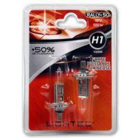 Lightec - Rally +50% 2 ampoules H1 12V 55W