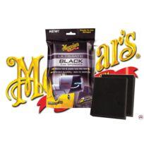 Meguiars - Ultimate Black - 2 eponges impregnees pour plastiques exterieurs