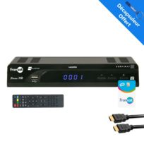 Servimat - Récepteur Tv satellite Hd + carte Viaccess Fransat Pc6 + Câble Hdmi 2M