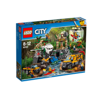 Lego - City - Le site d'exploration de la jungle - 60161