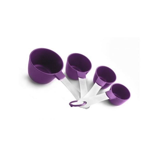 Ibili Set 4 Casseroles A Mesurer Nylon+INOX