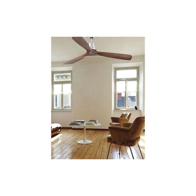 faro ventilateur plafond lantau 132cm nickel bois 33370 pas cher achat vente ventilateur. Black Bedroom Furniture Sets. Home Design Ideas