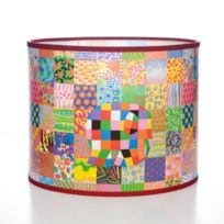 Elmer the Elephant - Abat-jour Motif Patchwork Elmer Grand Format