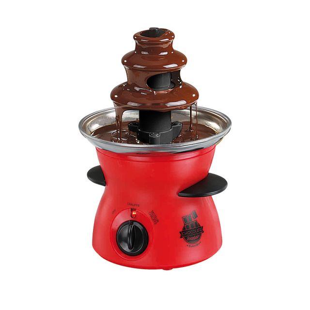 Domoclip Fontaine à chocolat électrique avec spirale tournante 300 ml
