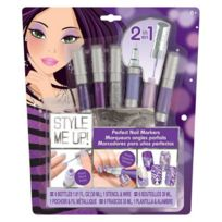 Wooky Entertainment - Style me up Stylos pour les ongles violets