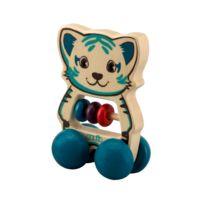 Okoia - Petit tigre à roulettes
