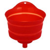 Mastrad - Entonnoir Filtrant Pour Siphons, Pots Et Bouteilles Rouge Rouge
