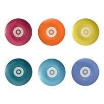 Incidence Paris - Assiette Gm - Technicolor boite de 6