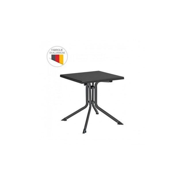 Kettler - Table de jardin pliante Advantage 70 x 70 x 74 cm ...