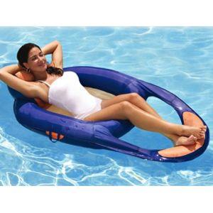 Kerlis vigipiscine chaise longue gonflable spring for Chaise longue pour piscine pas cher