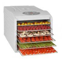 Kitchen Chef - Deshydrateur Fruits et Légumes 6 plateaux Kys-333B