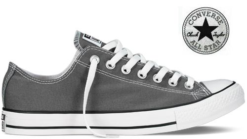 Converse Chaussures All Star Chuck Taylor Basse Anthracite