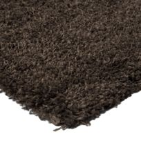 Mon Beau Tapis - Tapis Imperial Shaggy 60x110 Taupe