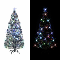 Rocambolesk - Superbe Arbre de Noël artificiel avec support en acier/LED 180 cm 220 Branches neuf
