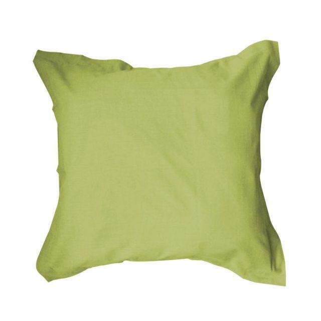 Today - Taie oreiller 100% coton 57fils Fougere Vert - NC