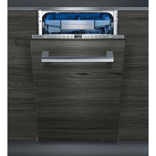 SIEMENS lave-vaisselle 45cm 10c 44db a+++ tout integrable - sr656x01te