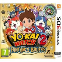 NINTENDO - Yo-Kai Watch 2 Fantômes Bouffis + médaillon - Édition Limitée - 3DS