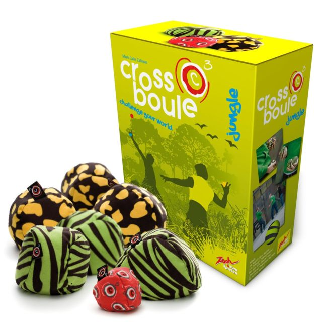 Zoch Jeux de société - Cross Boule : Jungle
