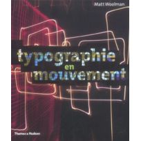 Thames And Hudson - Typographie en mouvement