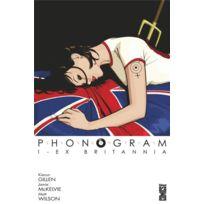 Glenat Comics - phonogram tome 1 ; Ex Brittania