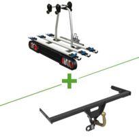 Boisnier - Pack attelage et porte vélo standard + faisceau universel 7 broches + Tilting 3
