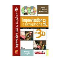 Play Music Publishing - Improvisation au saxophone jazz en 3d