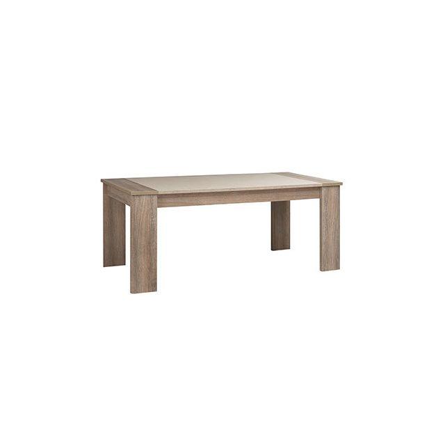 Table repas 190x77x90cm naturel - Honorine