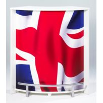 Bonareva - Comptoir de bar - London - Drapeau anglais - Blanc